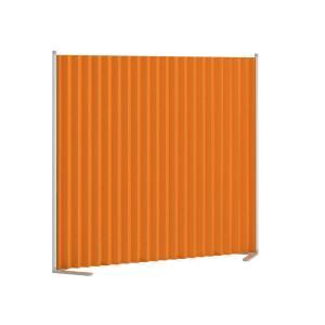 クロスパーテーション おしゃれ 間仕切り トヨダプロダクツ クロスパーティション オレンジ KP−1DN 消臭・防炎機能付き 送料無料 e-life-products