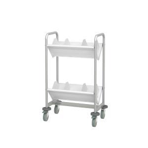 トヨダプロダクツ ファイルワゴン ブックラックワゴン キャスター付き 2段 TW−2 送料無料|e-life-products