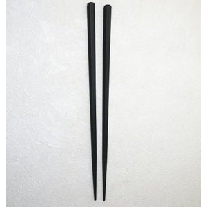 業務用 SPS樹脂箸 新六角 黒 滑り止加工