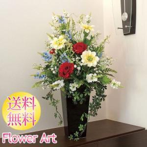 母の日 光触媒アートフラワー グランディアー赤いバラ お祝い|e-living