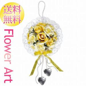 母の日 光触媒アートフラワー クリスタルローズY 黄色いバラ お祝い|e-living