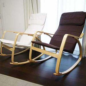 ロッキングチェアー 木製 チェア アームチェア リラックスチェア 一人掛け 訳あり アウトレット家具|e-living