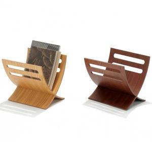 マガジンラック おしゃれ 木製 アウトレット家具の写真