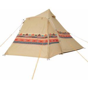 ロゴス LOGOS ナバホEX Tepeeリビング400−AI 71806520|登山用品ロッジ