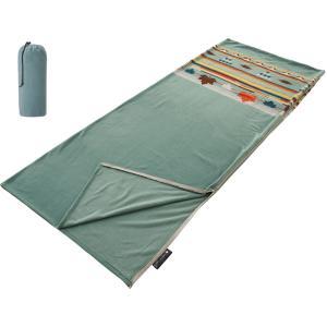 ロゴス LOGOS フリースシュラフ(ターコイズナバホ) シュラフ 寝袋 封筒型 アウトドア キャン...