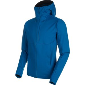 MAMMUT(マムート) Ultimate V SO Hooded Jacket AF Men シェ...