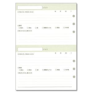 仕事の達人 振り返りメモ システム手帳 リフィル A5サイズ