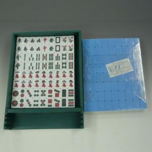 全自動麻雀卓「スパイダーHV」専用 麻雀牌(青色) e-mahjong