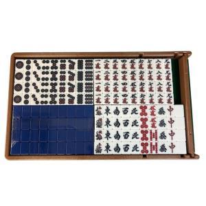 全自動麻雀卓「スパイダー#(ハッシュ)」専用 麻雀牌 [青色1面] e-mahjong