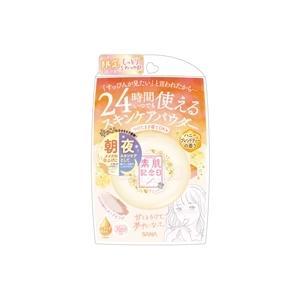 フェイスパウダー 素肌記念日 スキンケアパウダー ハニーブレンドティの香り コスメ スキンケア