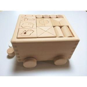 積み木 積木 つみき  k.kurosawaハンドメイド 3段60ピース パズル付は日本製積み木|e-meiboku