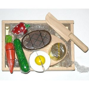 かわいい包丁と食材セット(1) e-meiboku