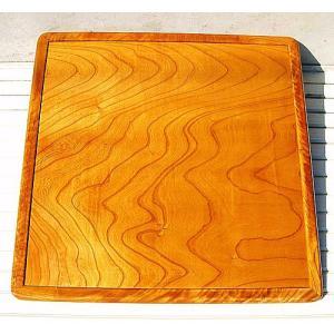 【こたつ板・コタツ板・炬燵板・こたつテーブル】総けやきこたつ板、裏表杢目、90cm角 e-meiboku