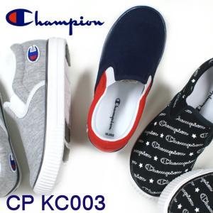 チャンピオン キッズ Champion CP KC003 ブラックモノグラム・グレー・ネイビー/レッド・トリコ|e-minerva