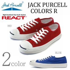 コンバース CONVERSE ジャックパーセル カラーズ R JACK PURCELL レッド・ブル...