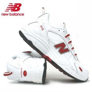 ニューバランス スニーカー New Balance ML615 (NWR)ホワイトレッド|e-minerva
