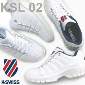 ケースイス K-SWISS KSL02 エバー ユニセックス スニーカー ホワイト・ホワイトトリコ|e-minerva