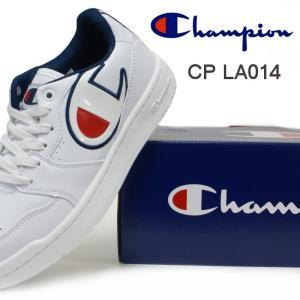 チャンピオン スニーカー CP LA014 オールコート OX トリコ・ホワイト・ブラック|e-minerva