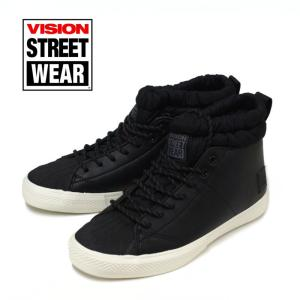 ヴィジョン VISION STREET ハイカット スニーカー グレイシャー VSW-6358 GLACIER Hi ブラック|e-minerva