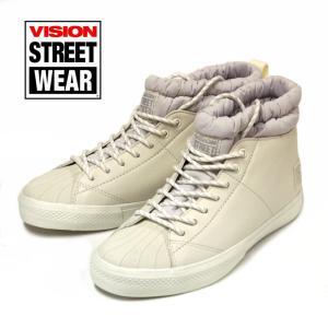 ヴィジョン VISION STREET ハイカット スニーカー グレイシャー VSW-6358 GLACIER Hi ホワイト|e-minerva