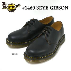 ドクターマーチン Dr.Martens 1461 3ホール ギブソンシューズ GIBSON SHOE ブラック|e-minerva