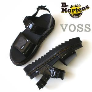 ドクターマーチン Dr.Martens 23802001 VOSS ストラップサンダル ブラック|e-minerva