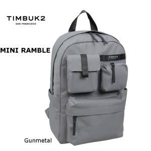 ティンバックツー TIMBUK2 ミニランブルパック ガンメタル|e-minerva
