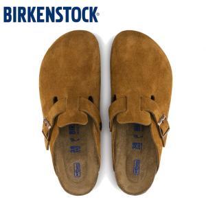 ビルケンシュトック ボストン  メンズ サンダル BIRKENSTOCK スエード MINK|e-minerva