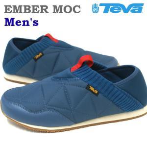 テバ Teva エンバーモック EMBER MOC メンズ ディープブルー|e-minerva