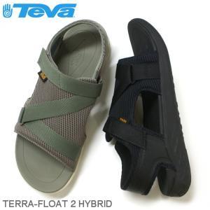テバ Teva メンズ サンダル テラフロート TERRA FLOAT 2 HYBRID ブラック・オリーブ|e-minerva