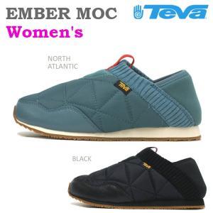 テバ Teva エンバーモック EMBER MOC ウィメンズ ブラック・ノースアトランティック|e-minerva