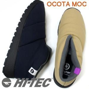 ハイテック HI-TEC ユニセックススノーブーツ OCOTA MOC ブラック・ベージュ|e-minerva