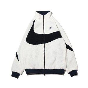ナイキ NIKE ボアジャケット BIG SWOOSH BOA JACKET SAIL/DARK O...