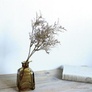 プラチナシダーバンドル 3本 造花  フェイクグリーン|e-mintcafe