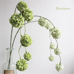 ボンボンスプレー 造花 インテリア 33102 フェイクフラワー フラワーピック|e-mintcafe