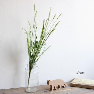 グラスブッシュ  造花 インテリア 46096 スワッグ 花束 リアル ギフト お祝い ミニ おすすめ おしゃれ|e-mintcafe