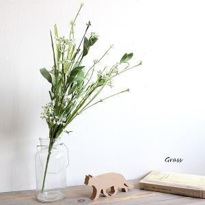 グラスブッシュ  造花 インテリア 43099 スワッグ 花束 リアル ギフト お祝い ミニ おすすめ おしゃれ |e-mintcafe