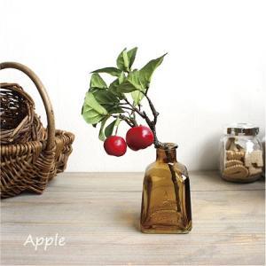 アップルピック 姫りんご  造花 インテリア 47736|e-mintcafe