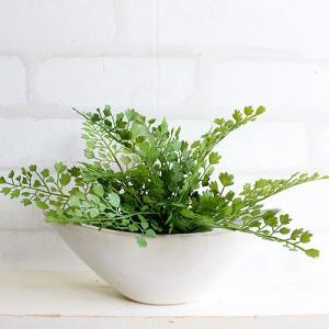 アジアンタム 舟型 17cm 観葉植物 造花 インテリア CT触媒 フェイクグリーン e-mintcafe
