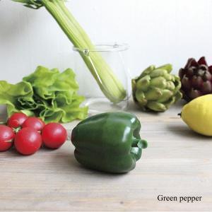 ピーマン Vegetable 造花 インテリア 雑貨 3628|e-mintcafe