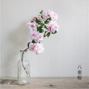 八重桜小枝 造花 1162|e-mintcafe