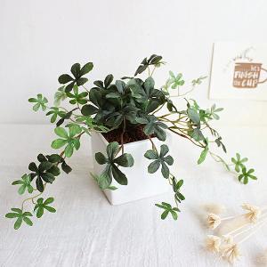 (再入荷しました) 観葉植物 L.シサスアイビー シュガーバイン 造花 インテリア フェイクグリーン...