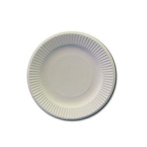 紙皿 20cm ホワイト 100枚
