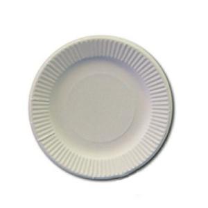 紙皿 23cm ホワイト 100枚