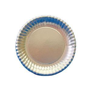 紙皿シルバープレート 菊型 6号 1500枚
