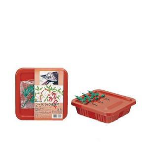 フードパック赤飯容器(角・ナンテン付) 3組入 100パック
