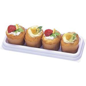 サンドイッチ用フードパック Fパレ W-90白 1200枚