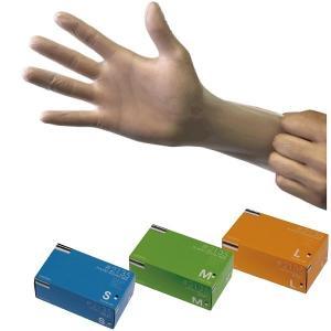 作業用使い捨て手袋 2135 プラスチックグローブ(粉無し) 200枚