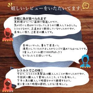 レトルト食品 和風 魚 惣菜 おかず 煮魚 宝幸 さば さんま 2種5食 ポッキリ セット メール便 e-monhiroba 07