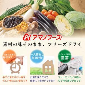 アマノフーズ フリーズドライ お試し 甘酒 おしるこ 2種8食 セット メール便 送料無 インスタント食品 e-monhiroba 02